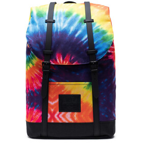 Herschel Retreat Mochila 19,5l, rainbow tie dye
